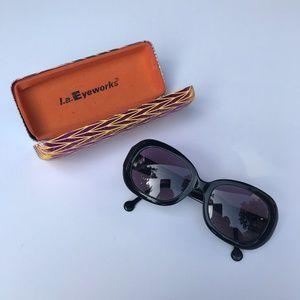 LA Eyeworks Sunglasses, used for sale